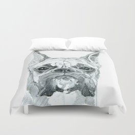 The Boxer Dog Miley Duvet Cover