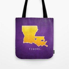 Louisiana State Tigers Tote Bag