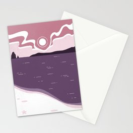 Sunrise at the Beach Stationery Cards