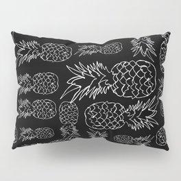 single line pineapple (white) Pillow Sham