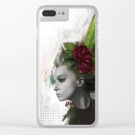 Great Hair Day Clear iPhone Case