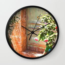 Glance of Provence Wall Clock