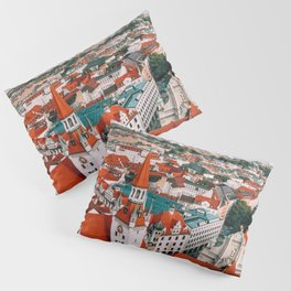 Hues Line is it Anyway? | Munich, Germany Pillow Sham