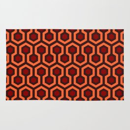 The Overlook Hotel Carpet Pattern Rug