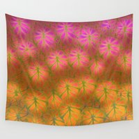 rare Wall Tapestries featuring Rare Jungle, Dawn by Lindel Caine