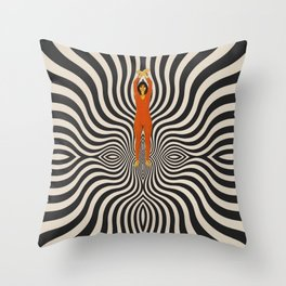 New dimensions Throw Pillow