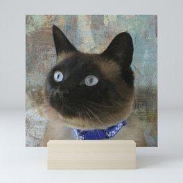 A Patchwork Kitty Mini Art Print