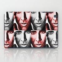 nicolas cage iPad Cases featuring Nicolas by ArtChickStudio