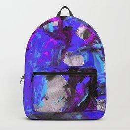 THRASHED! blue Backpack