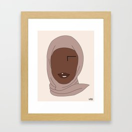NIK Framed Art Print