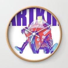 Bartkira on Motorcylce Wall Clock