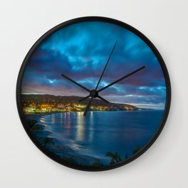 30 Seconds of Laguna Beach Wall Clock