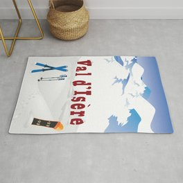 Val d'Isère, French Alps Rug