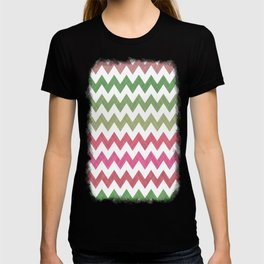 Pink Roses in Anzures 2 Chevron 2T T-shirt