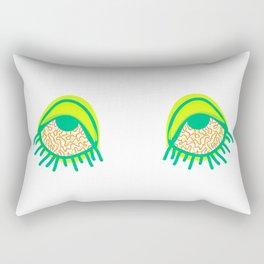 Swamp and Tired Rectangular Pillow