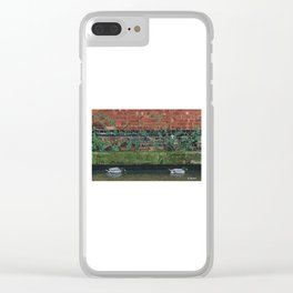 Canal Ducks Clear iPhone Case