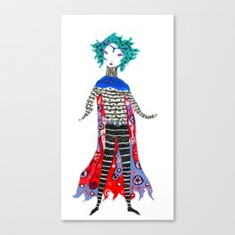 Caped Ramirez Canvas Print