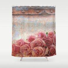 Rusty spring Shower Curtain