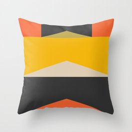 Stackables, Abstract Art Geometric Shapes Throw Pillow