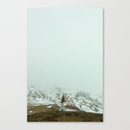 Icelandic Church Canvas Print