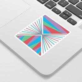 Mountain Horizon Sticker