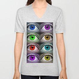All Eyes On You Unisex V-Neck