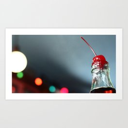 Cherry Coke Art Print