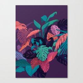 Jungle Colors Canvas Print