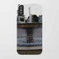 israel iPhone & iPod Cases featuring Israel Fountain by R. Nicole
