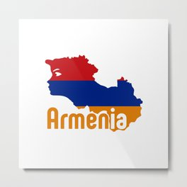 Armenia - Hayastan #society6 #decor #buyart #artprint Metal Print