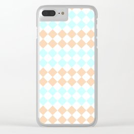 Little Diamonds Clear iPhone Case