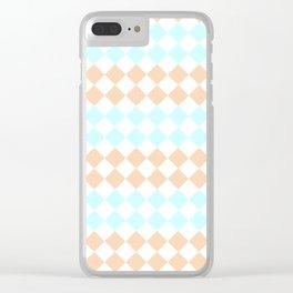 Little Diamonds Clear iPhone Case