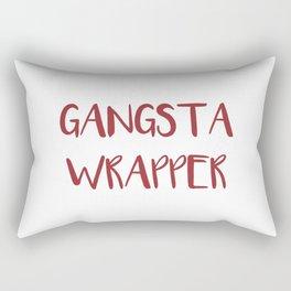 Gangsta Wrapper Rectangular Pillow