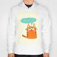 mew Hoodies featuring mew. by TangerineCafé