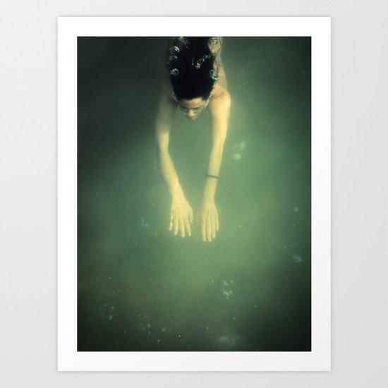 underwater I Art Print