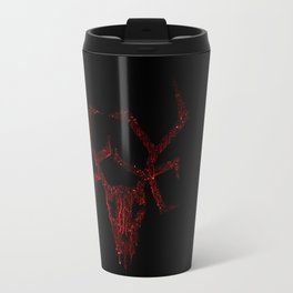Wendigo Dark Red Travel Mug