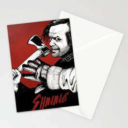 Shining - Here's johnny Stationery Cards