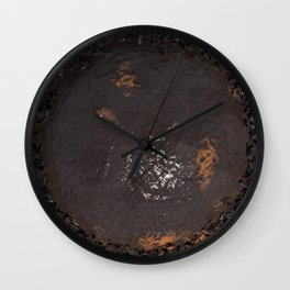 Water Damage Wall Clock