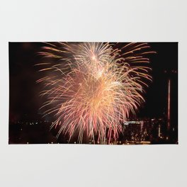 Firework collection 11 Rug