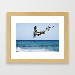 Kit Surf Framed Art Print
