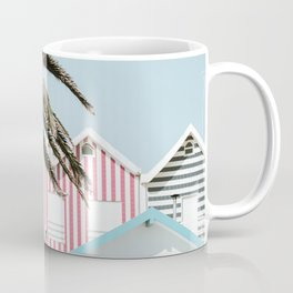 Candy Striped Houses Coffee Mug