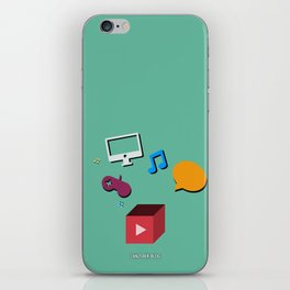 Zanzebek YT iPhone Skin