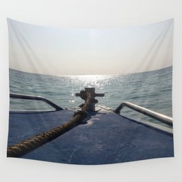 Thailand Boatride Wall Tapestry