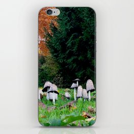 Family of Mushrooms iPhone Skin