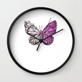 Butterfly Lover Gift Ideas Wall Clock
