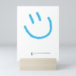 Street Art Happy Face Mini Art Print