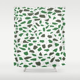 Terrazzo AFE_T2019_S7_2 Shower Curtain