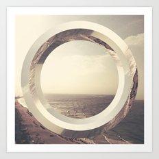 l'oceà (iPhone Created) Art Print