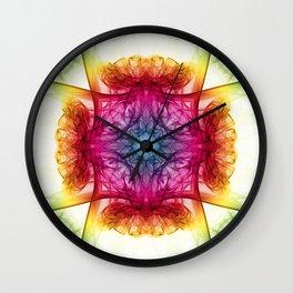 Smoke Art 31 Wall Clock