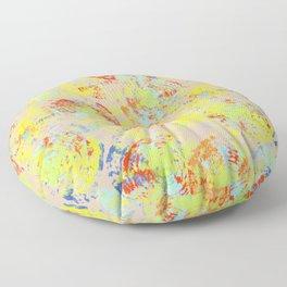 Spiral/circles textured Floor Pillow